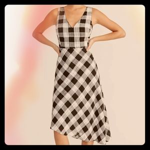 NWT Rachel Rachel Roy Gingham/Plaid Dress